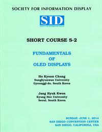 2014 Display Week Short Course 2 - Fundamentals of OLED Displays